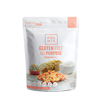 Harina Sin Gluten - Mezcla todo propósito sin azúcar - Pramix - 360g