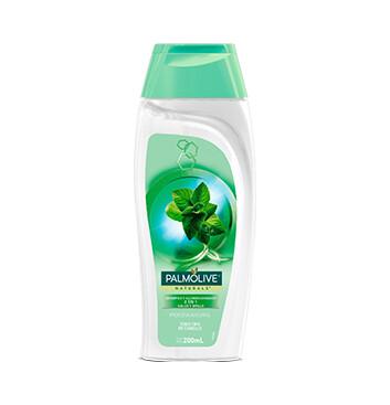 Shampoo Palmolive Naturals - 2 en 1 - Brillo - 200ml