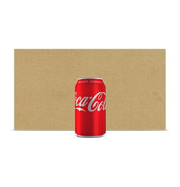 Fardo Coca Cola -  12 Unidades - 12oz /lata - Sabor Original