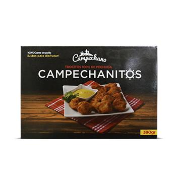 Campechanitos - Pollo Campechano - 390g/caja
