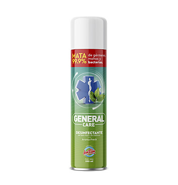 Desinfectante Antibacterial en aerosol - General Care - 390ml - Aroma Fresh