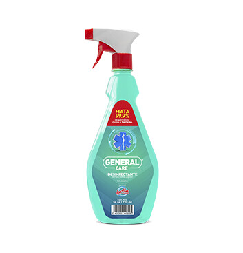 Desinfectante Antibacterial liquido - General Care - 720ml - Sin olor