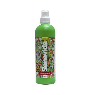 Desinfectante de vegetales y frutas - Sanavida - 480ml