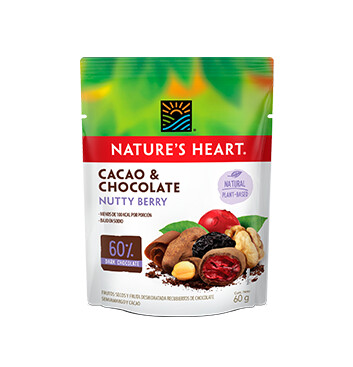 Snack Cacao y Chocolate NuttyBerry - Natures Heart - 60g
