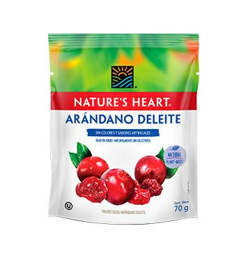 Natures Heart Arándano Deleite Snack Bolsa 70g