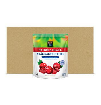 Caja Snack Arandano Deleite - Natures Heart - 10 Unidades - 70g
