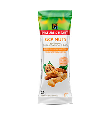 Snack Go Nuts - Natures Heart - 35g