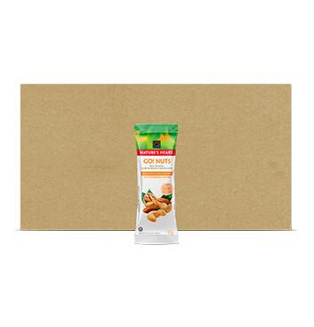 Caja Natures Heart Go! Nuts Snack Bolsa 24 x 35g