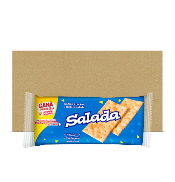 Fardo Galletas Salada - Gama - 27x 10 x 24 g