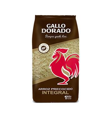 Arroz precocido Integral - Gallo Dorado  - 1Kl