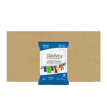 Caja Detergente Dizolve - 12 Unidades - 80g/32 tiras