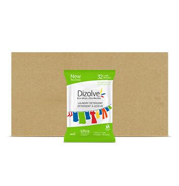 Caja Detergente Cítrico Dizolve - 12 Unidades - 80g/32 tiras