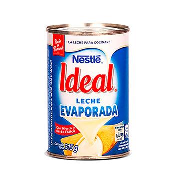 Leche evaporada - Ideal - 315g