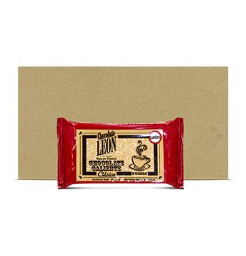 Caja Chocolate artesanal tableta - León - 40 Unidades - 190g