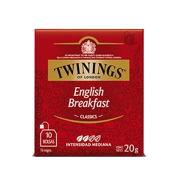 Té English Breakfast - Twinings - 20g/10 sobres