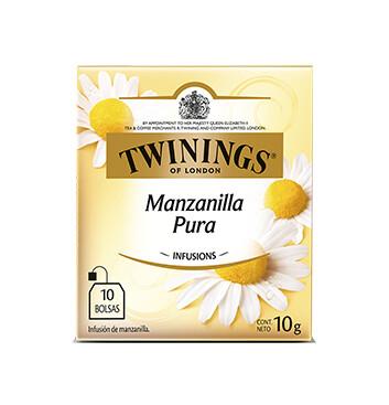 Té Manzanilla Pura - Twinings - 10g/10 sobres