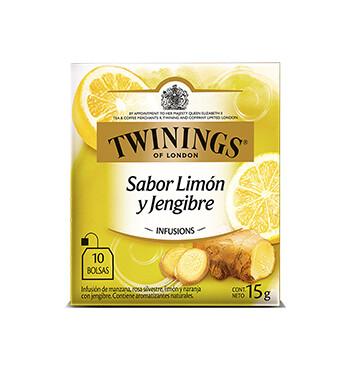 Té Limón y Jengibre - Twinings - 15g/10 sobres