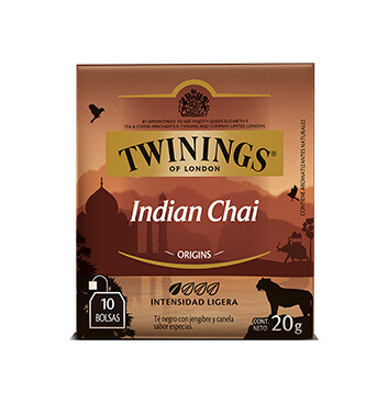 Té Indian Chai - Twinings - 20g/10 sobres