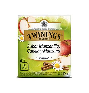 Té Manzanilla, Canela y Manzana - Twinings - 15g/10 sobres