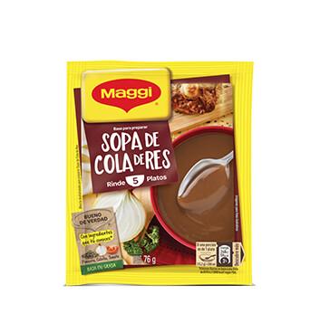 MAGGI® Sopa de Cola de Res Sobre 76 g