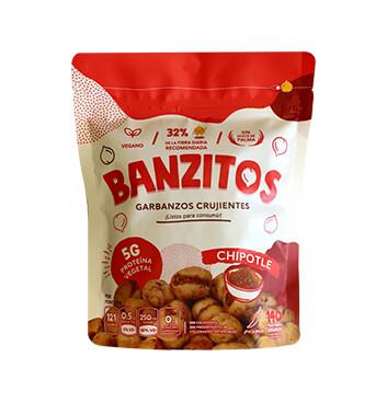 Snack de Garbanzo - Banzitos  - 140g - Sabor chipotle