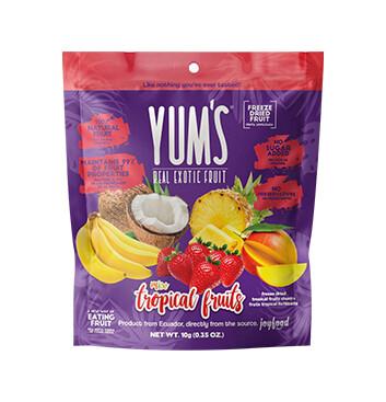 Snack Frutas Tropicales - Yums - 10g