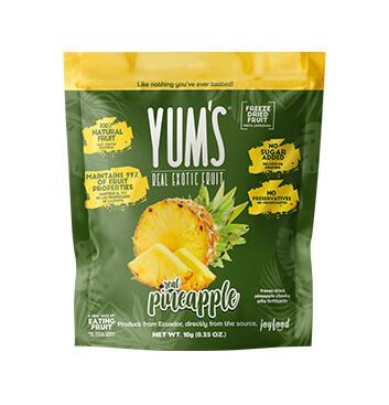 Snack de Piña - Yums - 10g