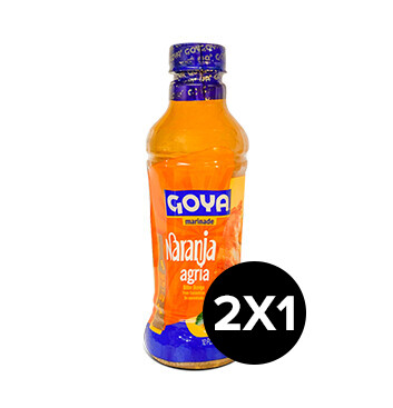 2x1  Naranja Agria - Marinada - Goya - 355ml