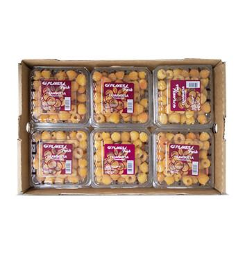Caja Clamshell Frambuesa amarilla - Planesa -12x6oz
