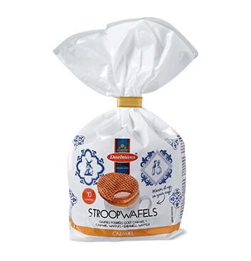 Bolsa Stroopwafel Caramelo - Daelmans - 290g