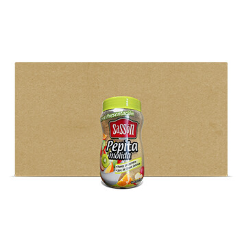 Caja Pepita molida - Sasson - 18 Unidades - 220g