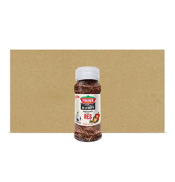 Caja Sazonador Res - De la Huerta - Malher - 18 Unidades - 90g/frasco