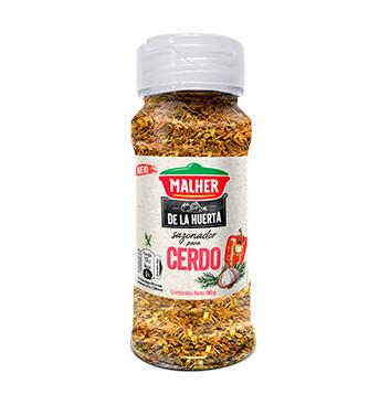 Sazonador Mix Cerdo - De la Huerta - Malher -  90g/frasco