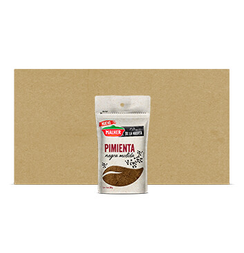 Caja Refill Pimienta Negra - De la Huerta - Malher - 24x20g