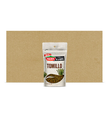 Caja Refill Tomillo - De la Huerta - Malher - 20x10g