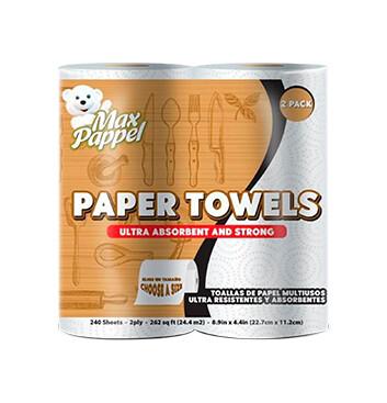 Toalla de papel - Two Pack - Max Pappel - 274g
