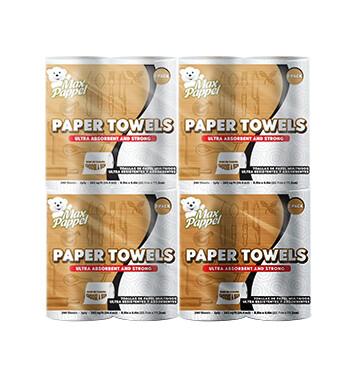 Fardo Toalla de papel - Two Pack  - Max Pappel - 12x274g