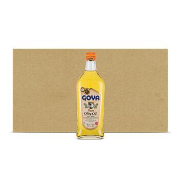 Caja Aceite de Oliva - Goya - 12 Unidades - 500ml