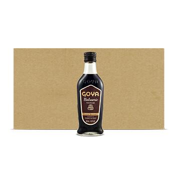 Caja de Vinagre Balsámico - Goya - 9 Unidades - 250ml