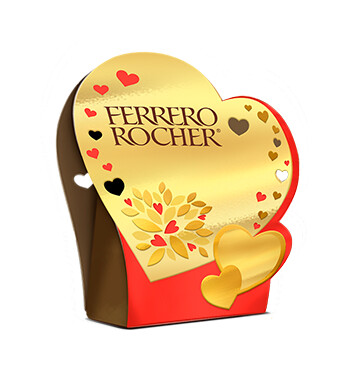 Chocolate Corazón T4 - Ferrero Rocher - 50g