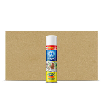 Limpia Vidrios Espuma - Don Clin - 12 Unidades -390ml