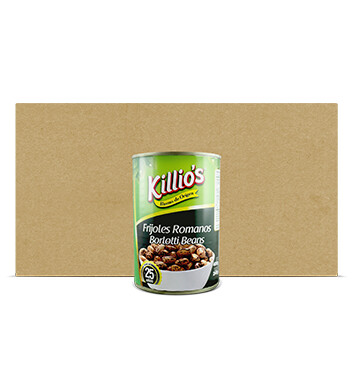 Caja Frijoles Romanos - Killios - 24x 400g