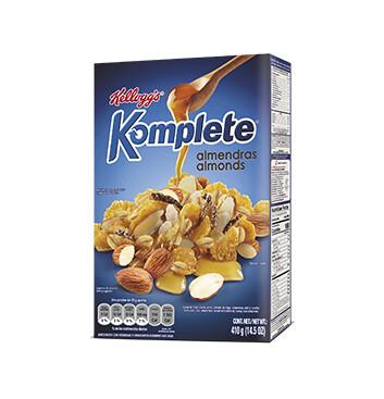 Cereal Kelloggs Almendra - Komplete - 410g