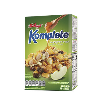 Cereal Kelloggs Manzana - Komplete - 460g