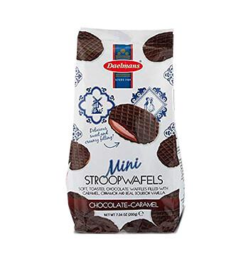 Bolsa Mini Stroopwafel de Chocolate - Daelmans - 200g
