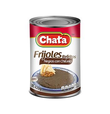 Frijoles Negros con Chilorio - Chata® - 420g