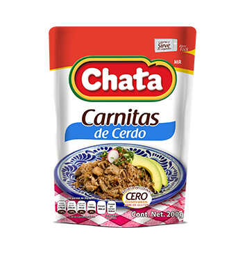 Carnitas de Cerdo - Chata® - 200g