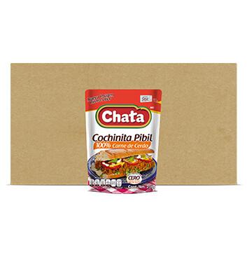 Caja Cochinita Pibil - Chata® - 14 Unidades - 250g