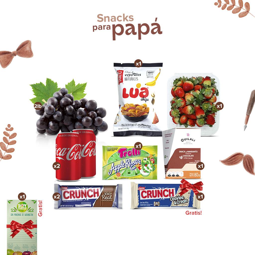 Pack Snack para Papá