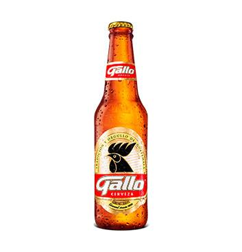 Cerveza Gallo - 350ml/botella